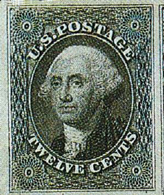 first US stamp