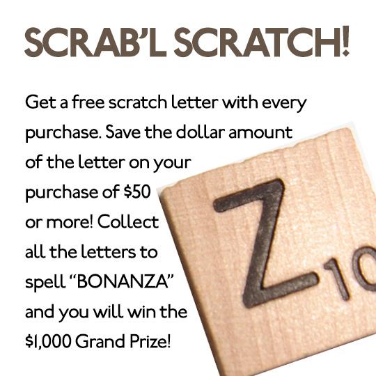 Scrabble Scratch