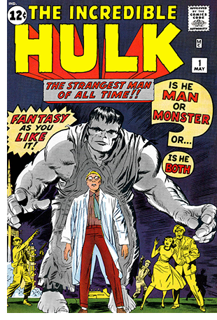 Grey Hulk from first edition