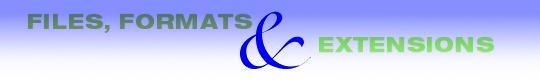fonts files extensions