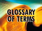 Paper Glossary