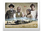 Stamps bring to light the founding stories of two early Black communities in Canada